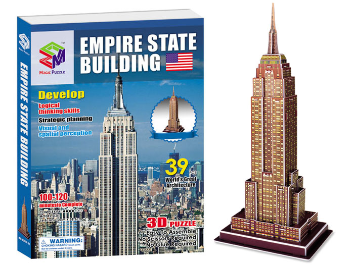 3D puzzle – Empire state