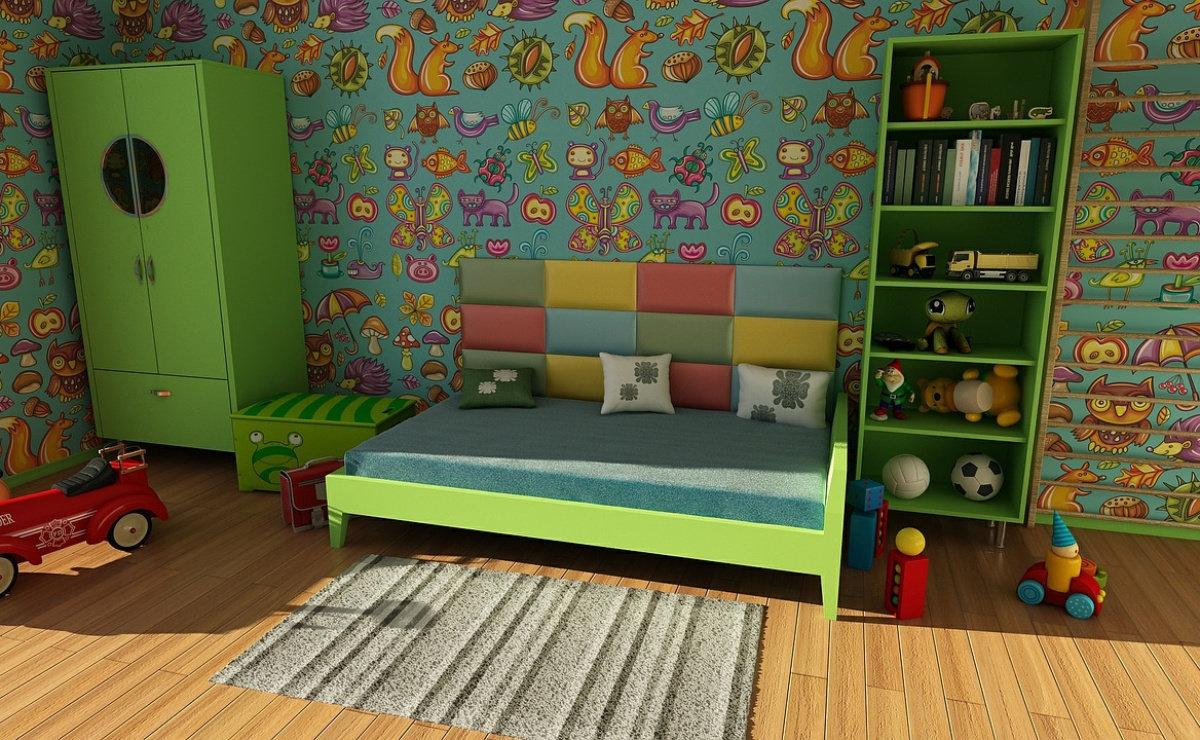 Zelena boja umiruje vaše dijete