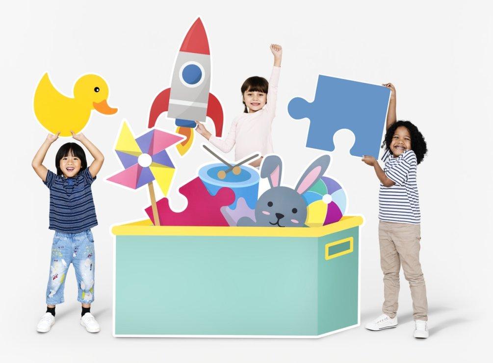 Motivirajte dijete da pospremi igračke